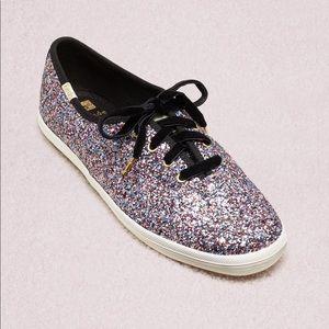 Kate Spade keds champion glitter sneakers